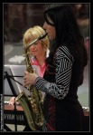 Christine au saxophone alto